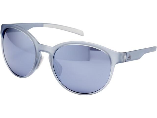 adidas Beyonder Lunettes Femme, grey transparent/chrome